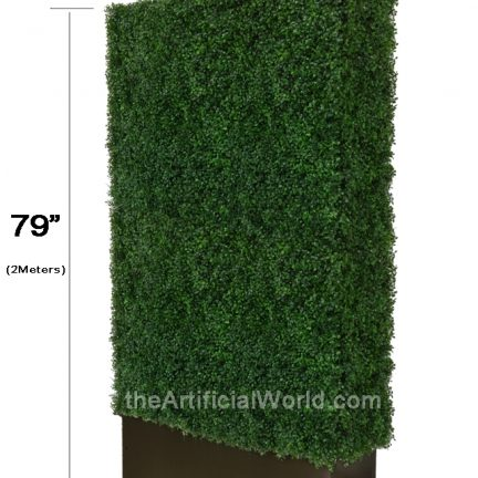 Artificial Boxwood Hedge With Planter Artificial Hedges