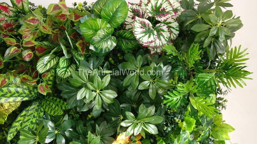 Artificial Living Wall | Artificial Hedges, Green Walls The Artificial World