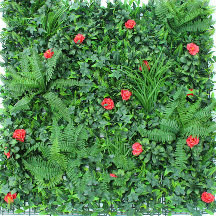 floral fence screen panel