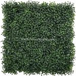 boxwood panels-dark-green