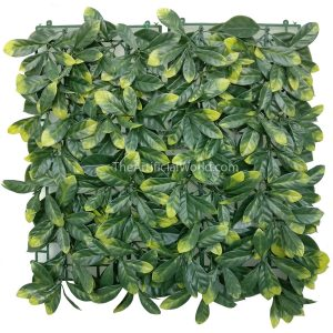 "ULAND <strong>4pcs</strong> of Artificial Osmanthus fragrans Lour yellowish Fence Covering Screen Plants 20""x20"" AGW-25"