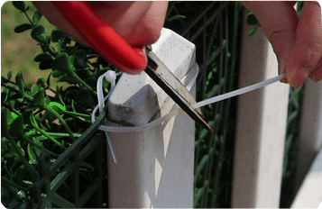 installation method of fence-step4