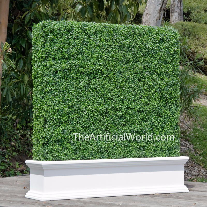 application of artificial boxwood 2