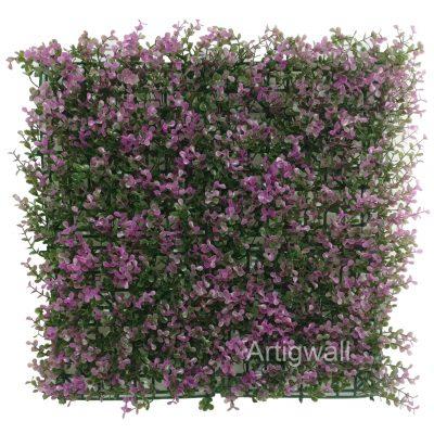 long purple boxwood panel