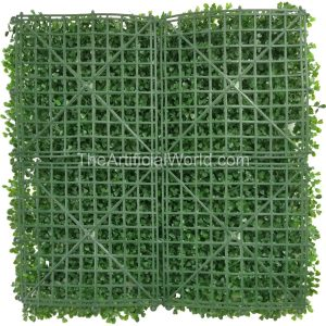 "ULAND <strong>4pcs</strong> of Artificial Boxwood Hedge Mat Faux Boxwood Privacy Fence Screen Light Green Color 20""x20"" AGW-31"
