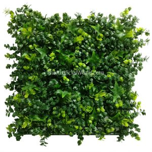 "ULAND <strong>4pcs</strong> of Long Artificial Boxwood Mat Artificial Shrubbery Bushwood 20""×20"" AGW-35"