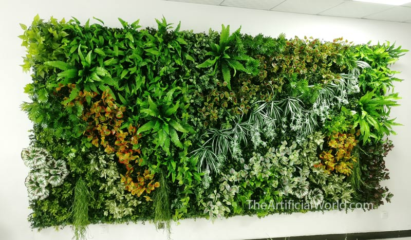 Blanket Plant Wall