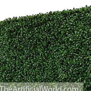 Faux Boxwood Hedge Divider Wall 76″H