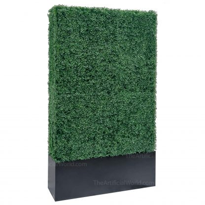 79 inches artificial hedge with planter box