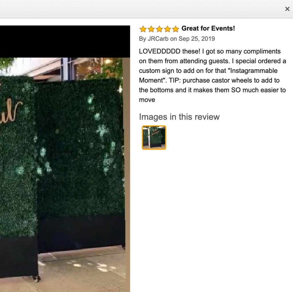 hedge wall review for 79 inches height