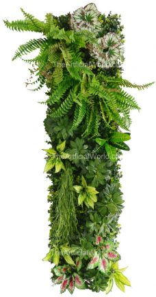 artificial living wall vertical
