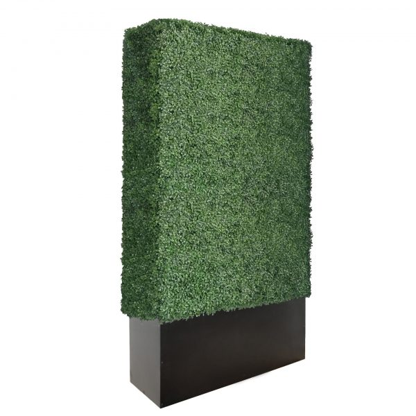 96 inches boxwood hedge wall