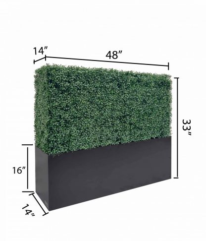 33 inches hedge size included