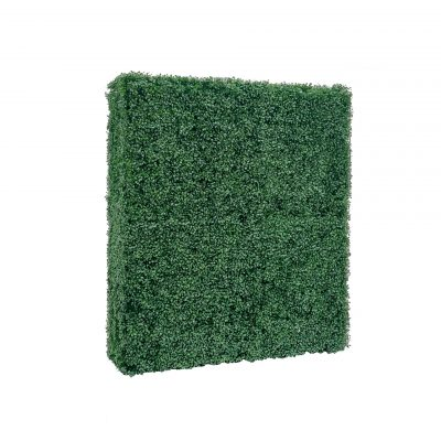 boxwood hedge wall backdrop 48 inches