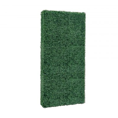 boxwood hedge wall- no base