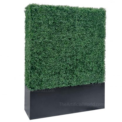64 inches artificial boxwood hedge