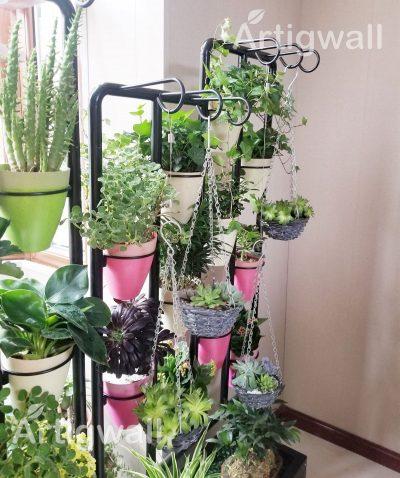 indoor flower shelf show-4 detail
