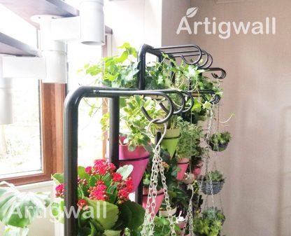 indoor flower shelf show-3 details