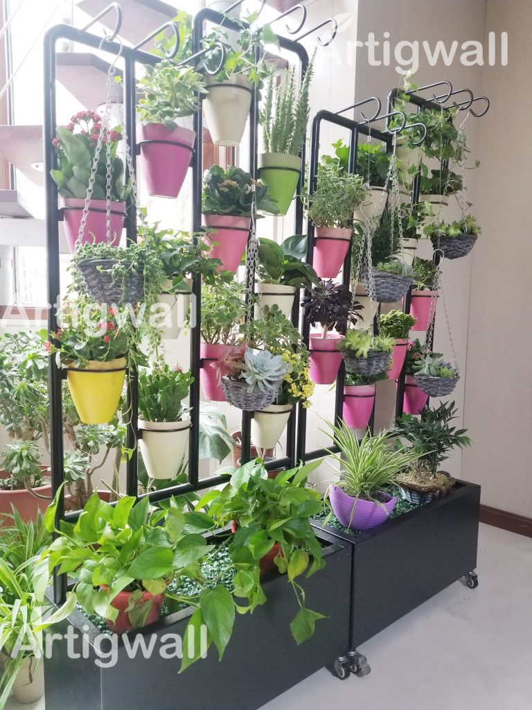 indoor flower stand show-2