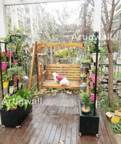 outdoor flower shelf show-3