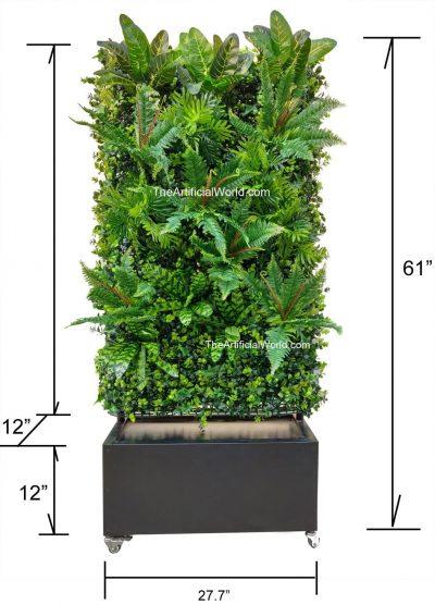 artifiical plant wall divider-4