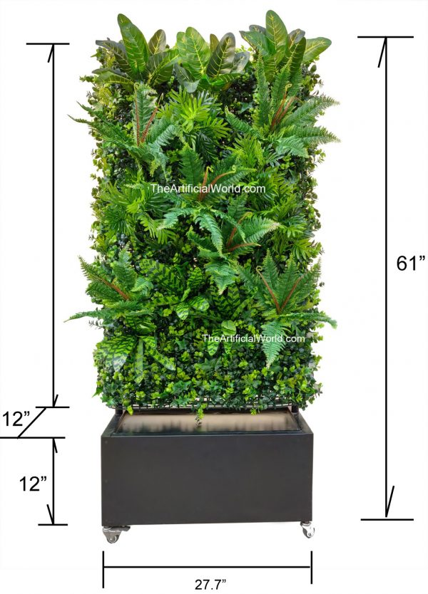 artifiical plant wall divider-4