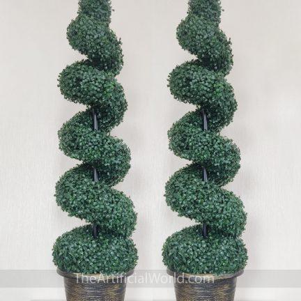 artificial spiral tree