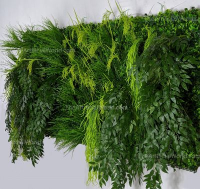 artificial living wall 80*40 side insight