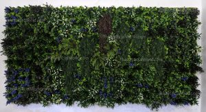 artificial plant wall fireproof