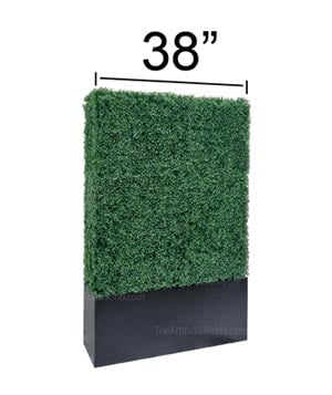 38 width hedge wall series