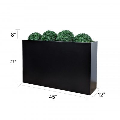 topiary ball hedge with size