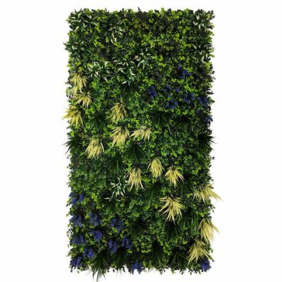 Fireproof Anti-UV Fake living wall panel Green Wall-4