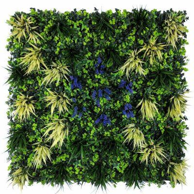 Fireproof Anti-UV Fake living wall panel Green Wall-44