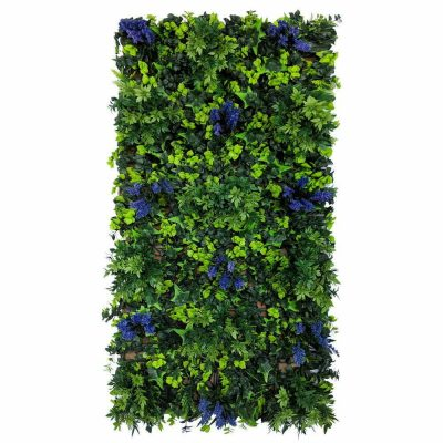 Fireproof Anti-UV Fake living wall panel Green Wall-7