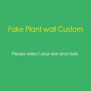 custom living wall
