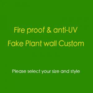 custom plant wall